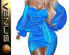 ~V~Cocktail Dress Royal