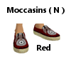 Moccasins (N)  Red