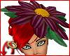 Daisy Hat Aubergine