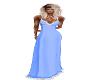 Light Blue Snow Dress