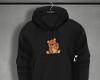 Bear hoodie.