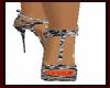 Black Leopard Heels