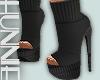 [h] Grey Sweater Boot