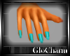 Glo* DaintyHands~Aqua