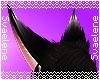 Black Kitsune Ears
