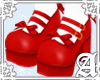 Lolita Shoes~ Red I