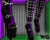 Temptress Purple Boots