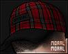 Plaid Red Cap
