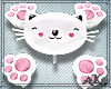 *Pastel Cat Table chairs