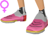Android Shoes Pink