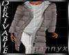$ DRV Fur Coat