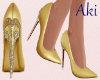 A. Gold Pumps.