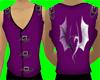 [AR]Purple Biker Vest