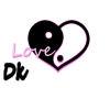 *Dk* Love neon