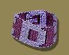 GCDS Purple/Pink Choker