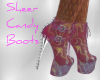 Sheer Candy Boots