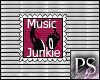 [PS] Music Junkie Stamp