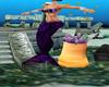 mermaid purple+sound