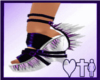 LGC purple punk shoes