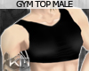 +KM+ GymTop Black Male