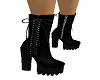 Boots Black Suede