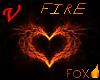 Fire Fox Chest Fur