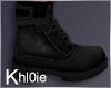 K ken blk boots