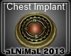 Steampunk Implant M Red