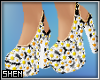 莘 Daisy Chunky Heels
