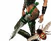 [Bee] Garter Sword Green