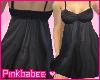 [Pb]Bk Stitch Bust Dress