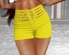 Sexy Lemon Yellow Shorts