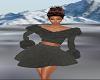 Gray Winter Dress