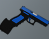 BLUE  GLock  GUN