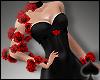 Cat~ Deep Heart Roses