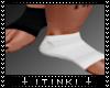 MALE SOCKS BLACK/WHITE