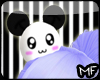 Kawaii Panda Head Pet