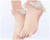 J! Cream wings + feet