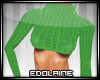 E~ Sexy Sweater Green