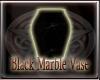 {ARU} Black Marble Vase