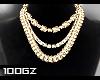 |gz| gold necklaces $