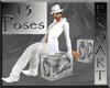 13 poses fashion cube 1