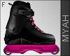 & Pink Rollerskates