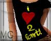 I<3 2 Fart! T shirt