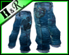 buggy fashion jeans star