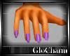 Glo* DaintyHands~Purple