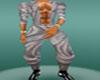 grey baggy pants male