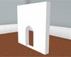 Wall Doorway - White