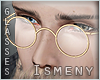 [Is] His Glasses