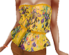 TF* Yellow Floral Top